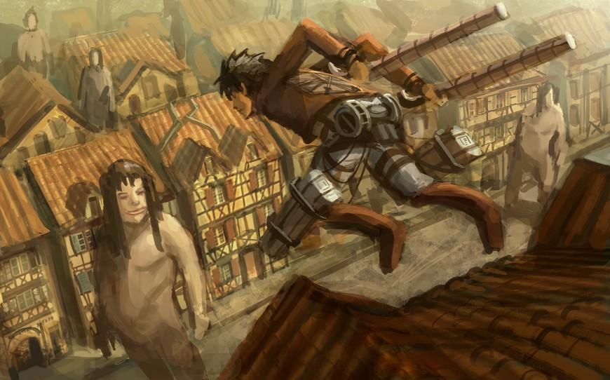 Attack on Titan by e-mendoza