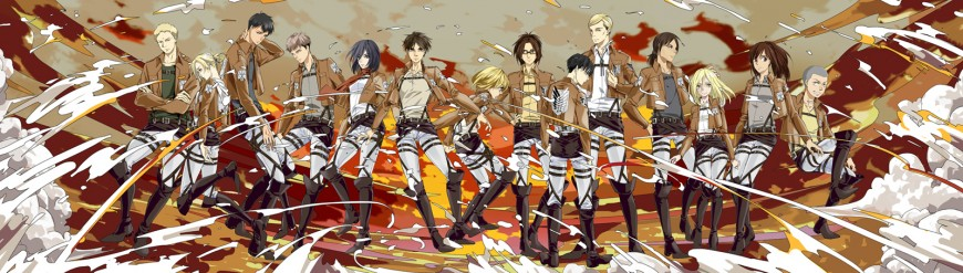 14 of Attack on Titan by ASingleGiraffe