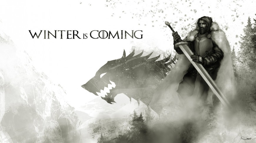 Eddard Stark - Digital Illustration by Darren Geers