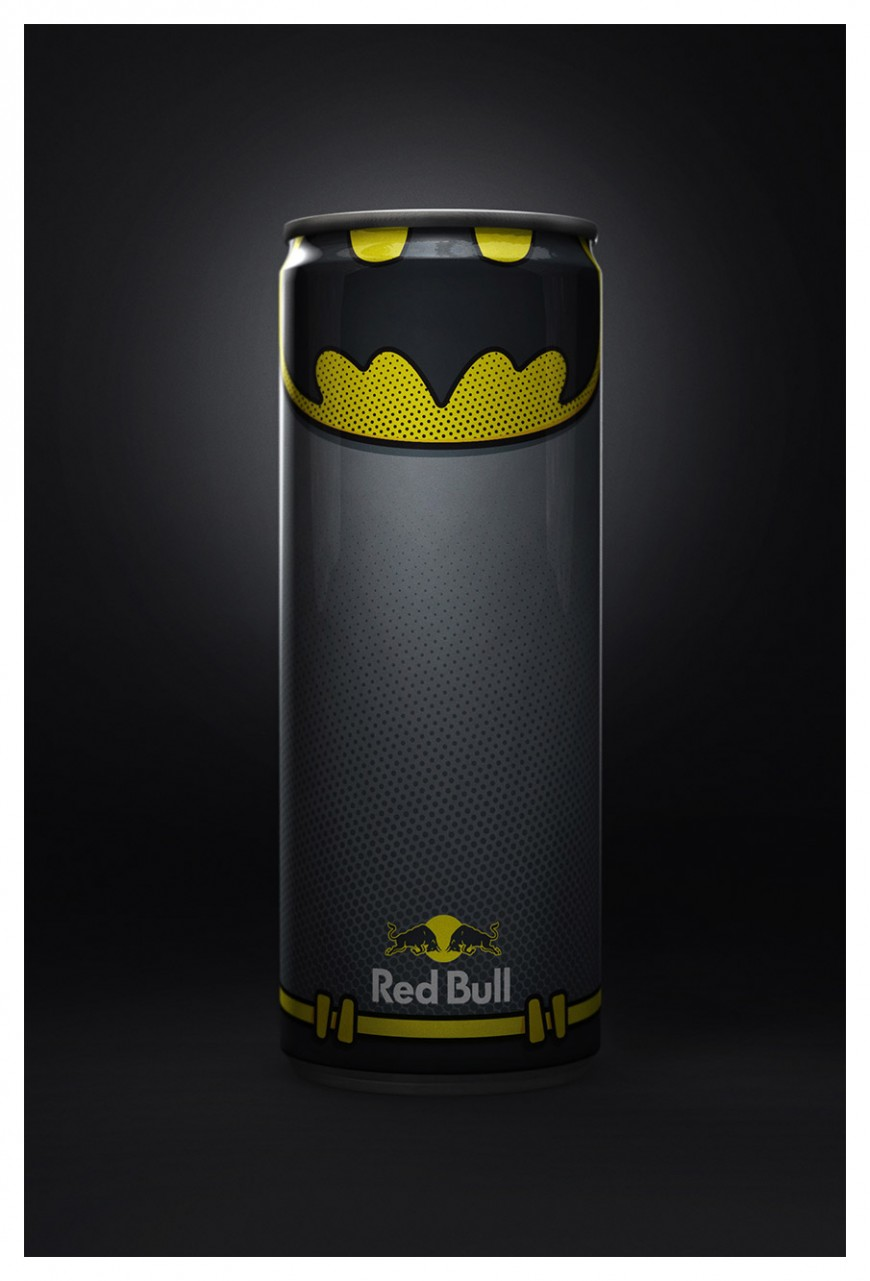 The Red Bull Superheroes Project by Diego Fonseca
