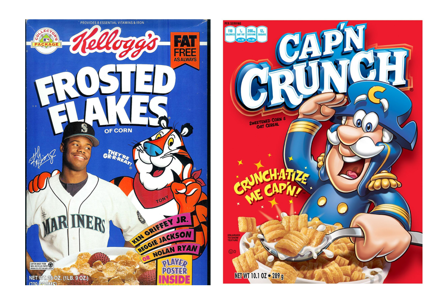 Image result for cereal boxes