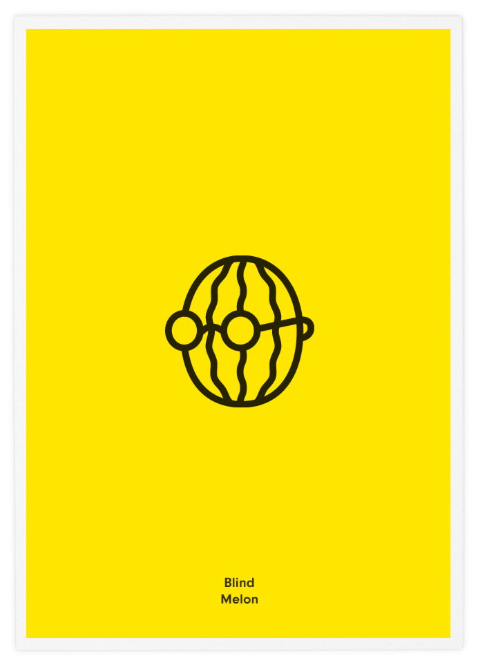 Poster-Design-Pictogram-Blind-Melon