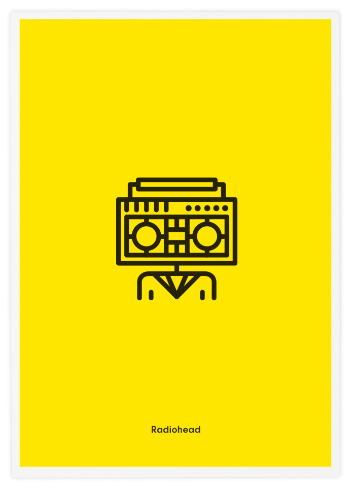 Poster-Design-Pictogram-Radiohead