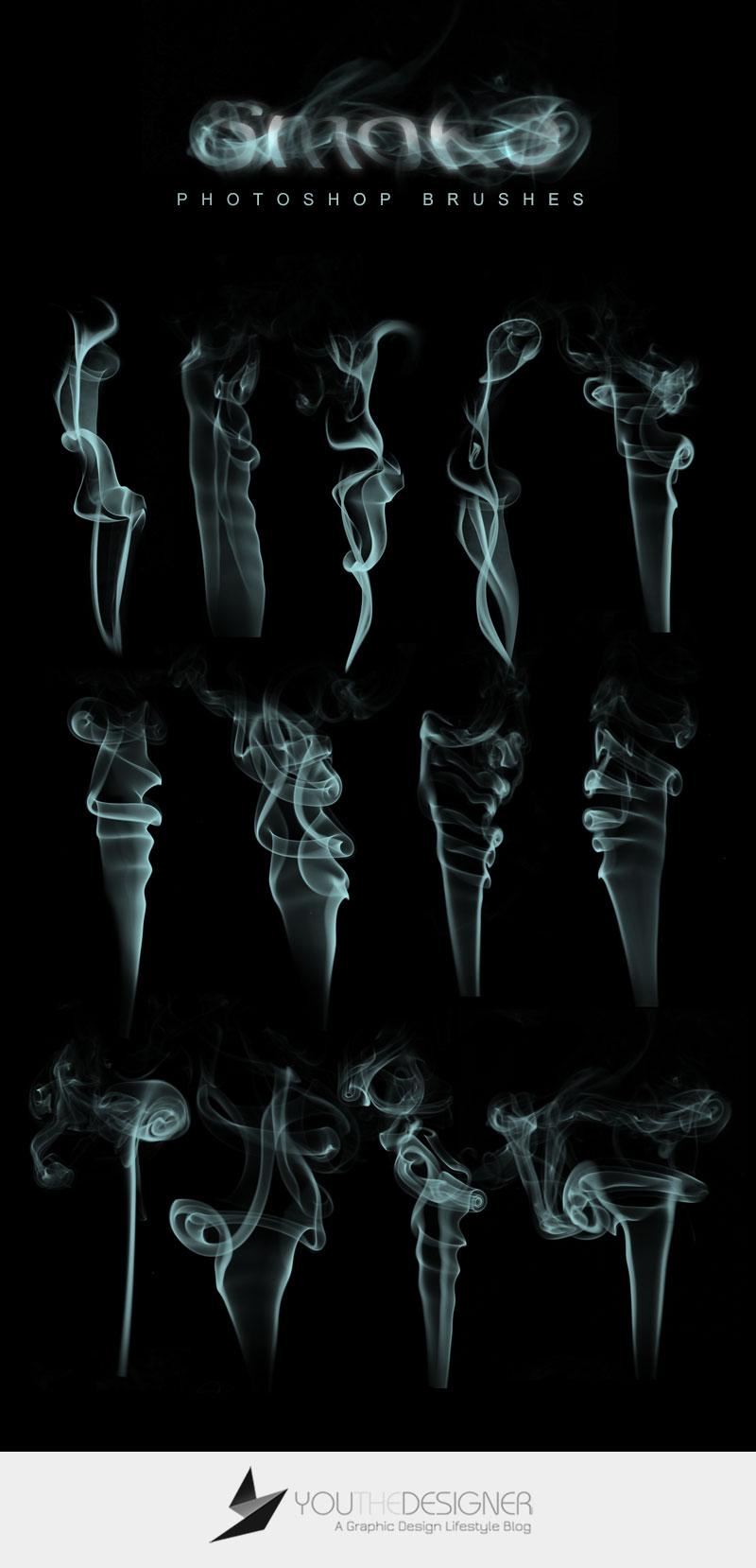 Smoke-Brushes-via-You-The-Designer