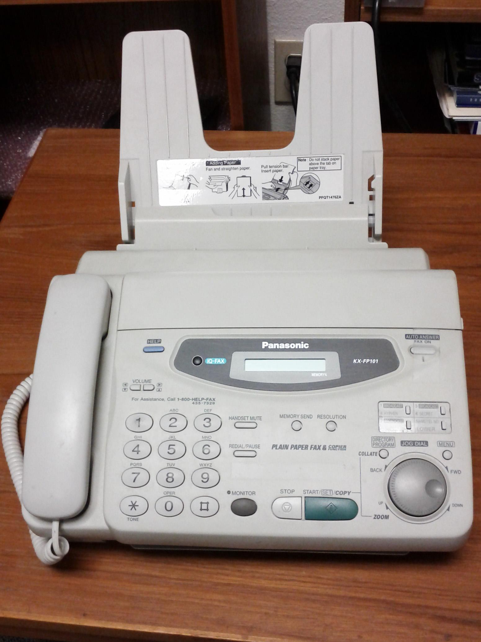 OFFER: Dead Fax Machine (Monrovia)