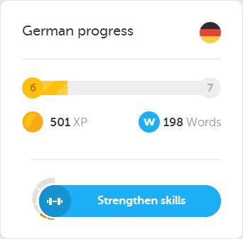 Duolingo Progress