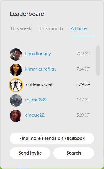 Duolingo Rank