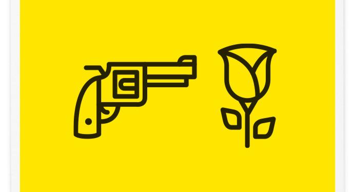 Poster-Design-Pictogram-Guns-n-Roses
