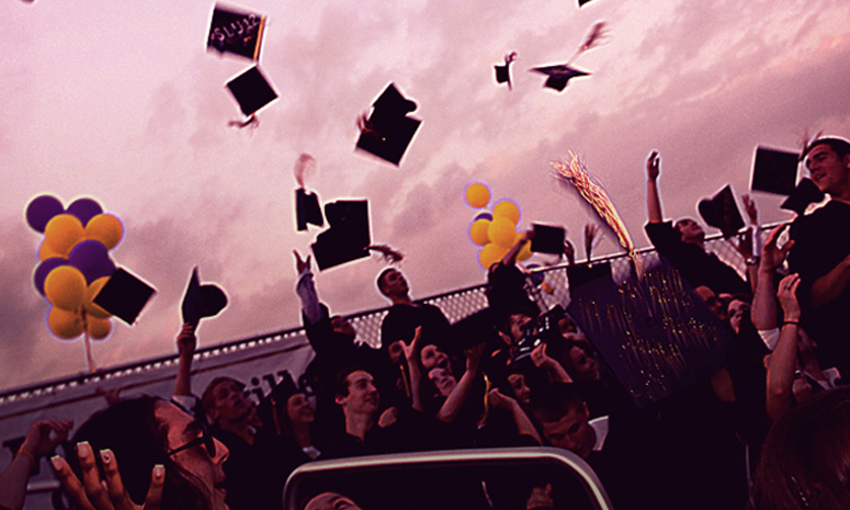 immediately after graduation in what role After degree completion, graduates can be referred to by their graduating year in some places, graduation parties to celebrate graduation from school, college or university are popular in a recent 2014 nationwide survey in the united states, $985 was the average amount spent on graduation parties.