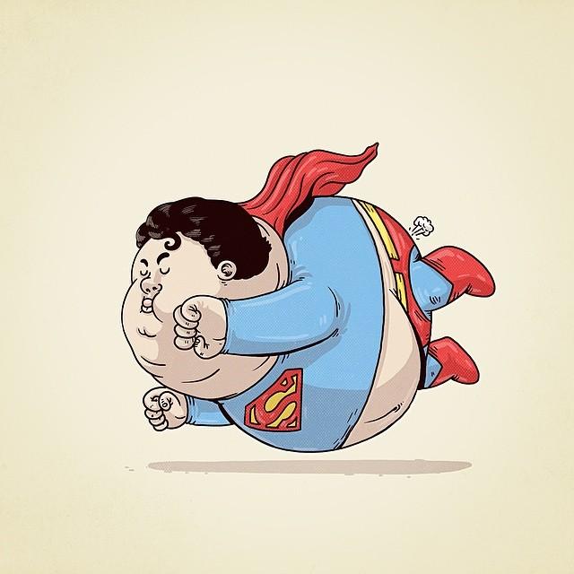 1. Chunky Superman