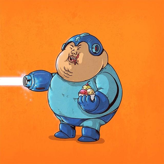 Chunky Mega Man