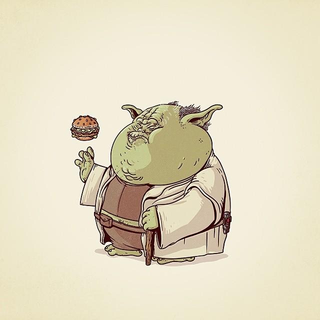 Chunky Yoda