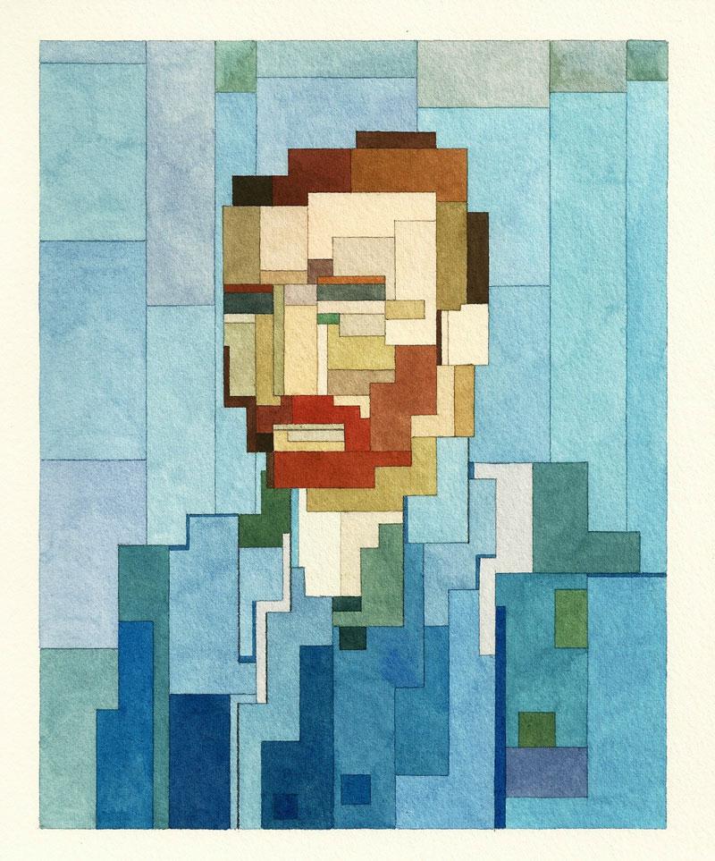 Lister---Van-Gogh's-self-portrait-