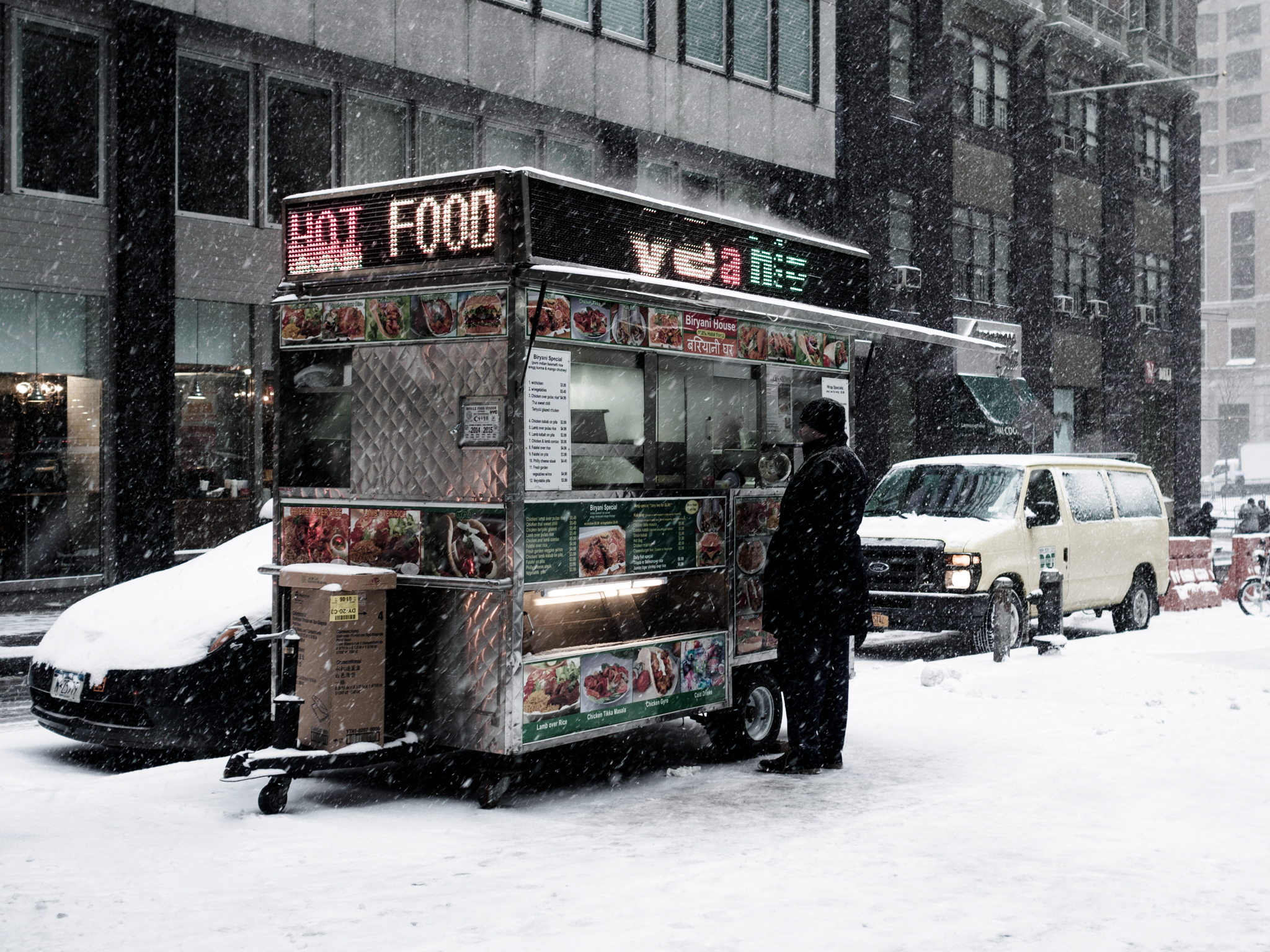 Hot Food In Cold Weather