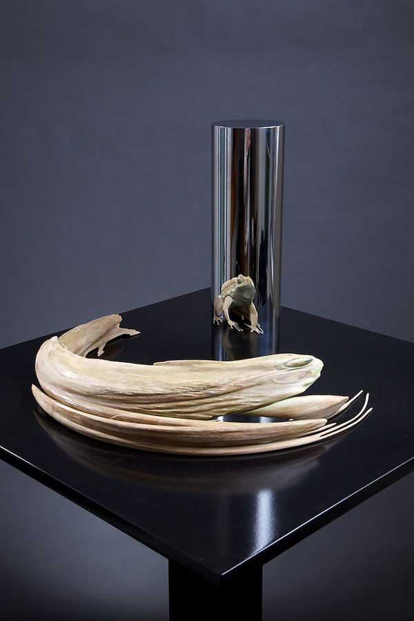 Anamorphic Sculptures by Jonty Hurwitz