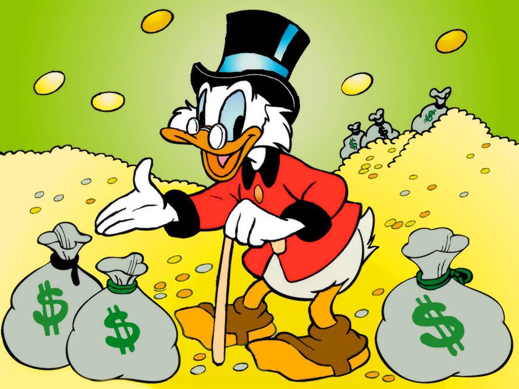 Fictional entrepreneurs - Scrooge McDuck