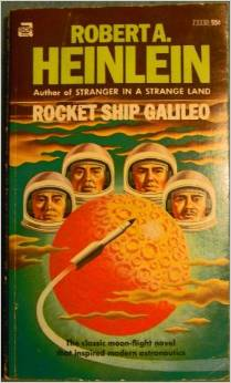 Rocket Ship Galileo - 20 Thought-provoking Books Every Entrepreneur Should Read