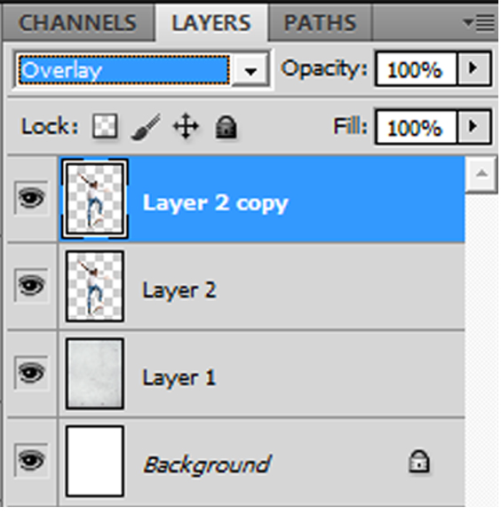 Step 06 - Select the duplicate layer