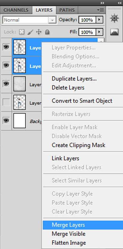 Step 10 - Merge layers