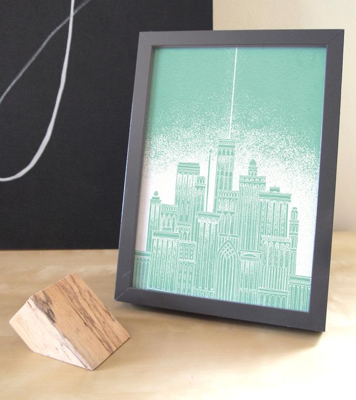 A4 digital print of 'Uranus'