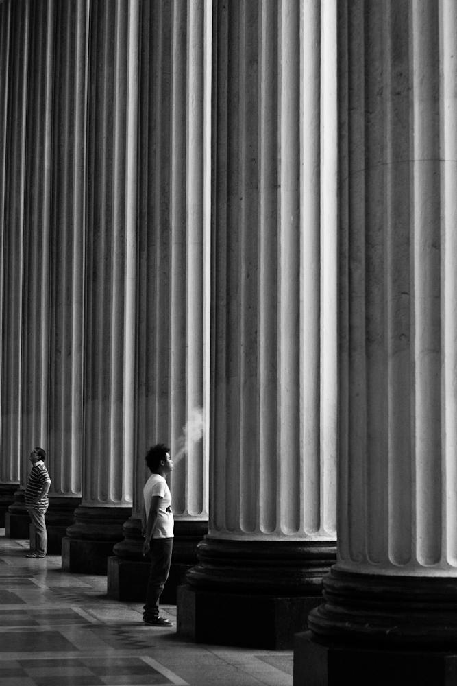 Smoke and Columns