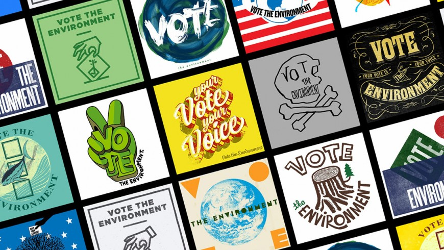 Vote-the-Environment-Poster-Collage