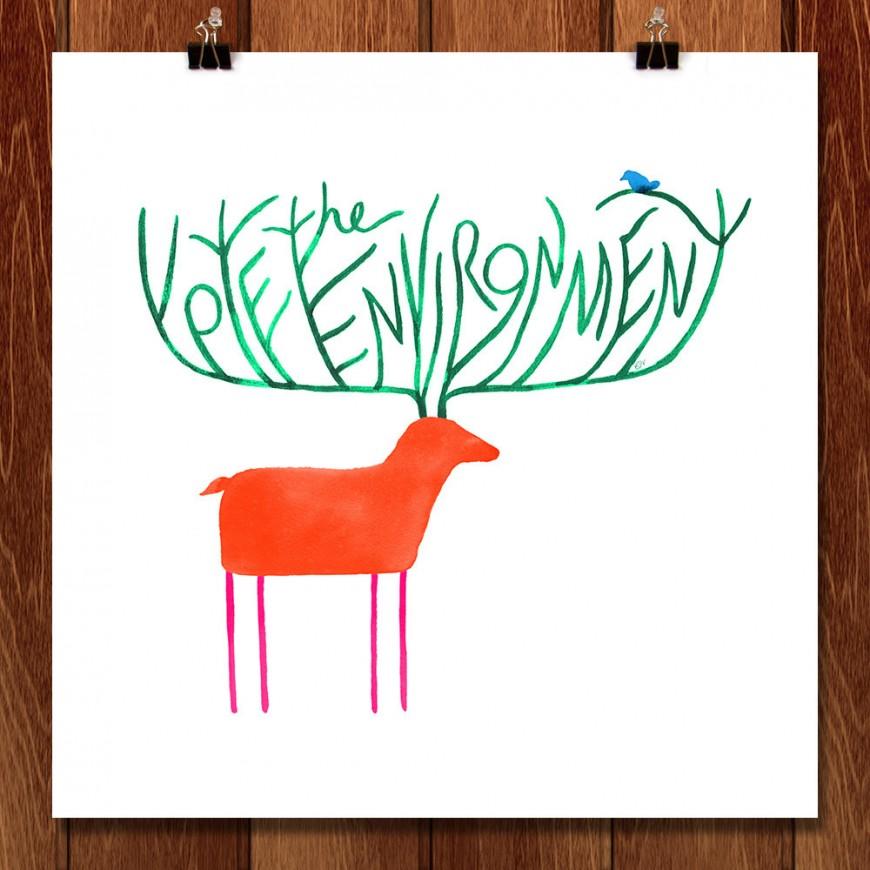 Vote-the-Environment-Poster-Katie-Vernon