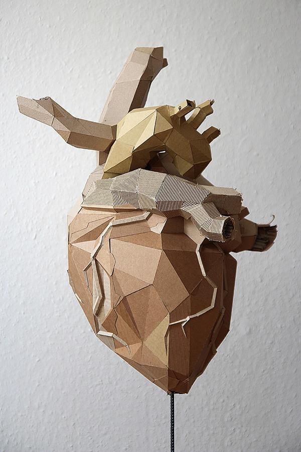 Bartek Elsner Paper sculpture