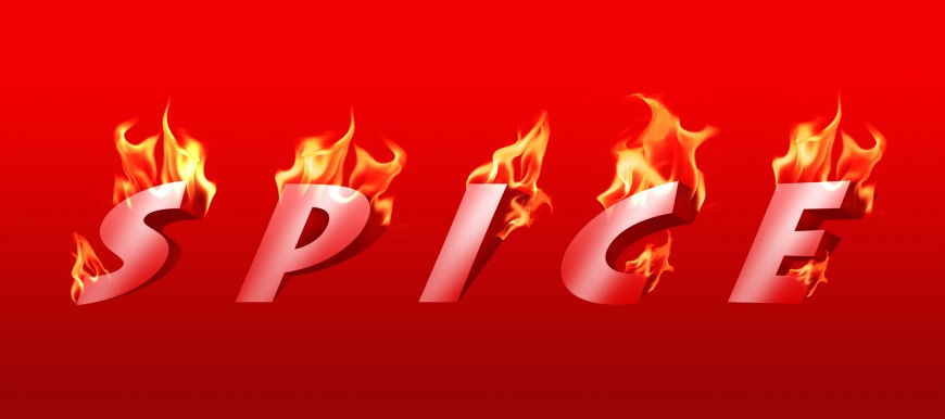 Photoshop Tutorials Fire Fire Text Effect Tutorial in