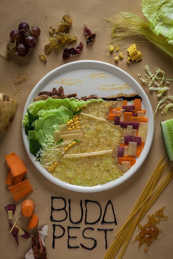 Food-photography-eastern-europe-city-illustrations-Budapest