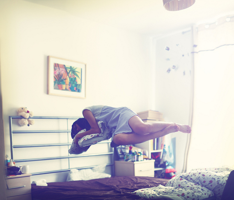 Nina Pang Levitation Photography