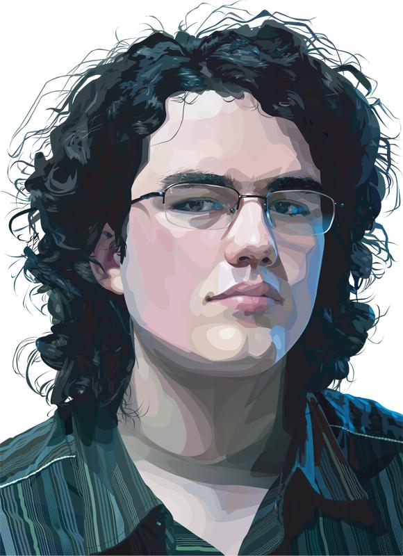 Vector_self_portrait_by_Argan_Gwengar