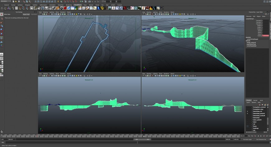 Animated Information Graphics: An Introduction to Maya 3D