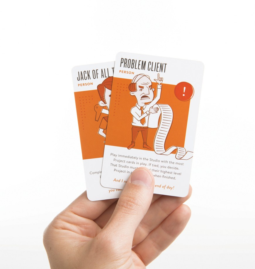 Persons offer special bonuses to your Studio or suddenly appear to cause mayhem on an unsuspecting player. Some Persons are played right away, others are free to play whenever.