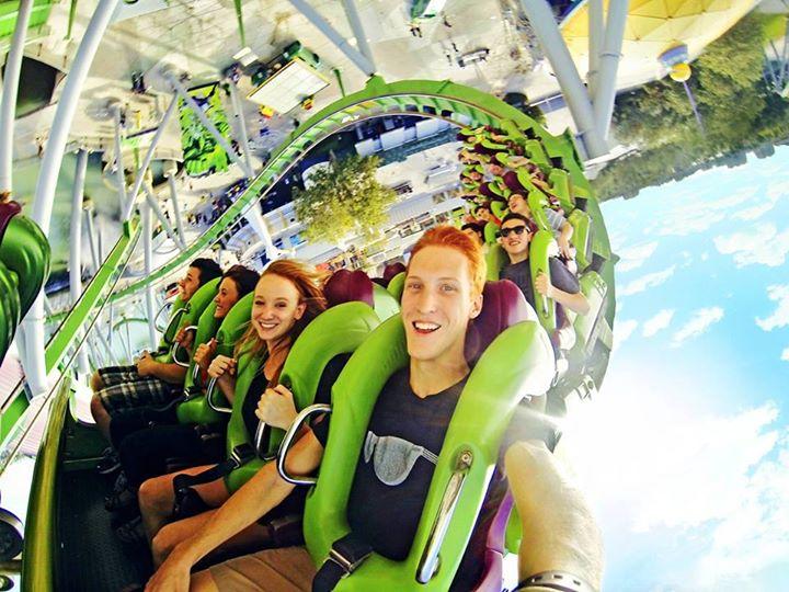 gorpro rollercoaster