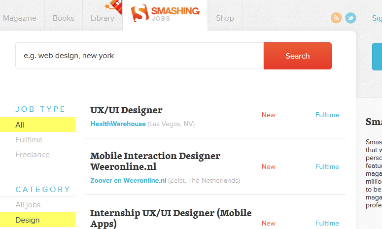 10 Great Places To Find Graphic Design Jobs