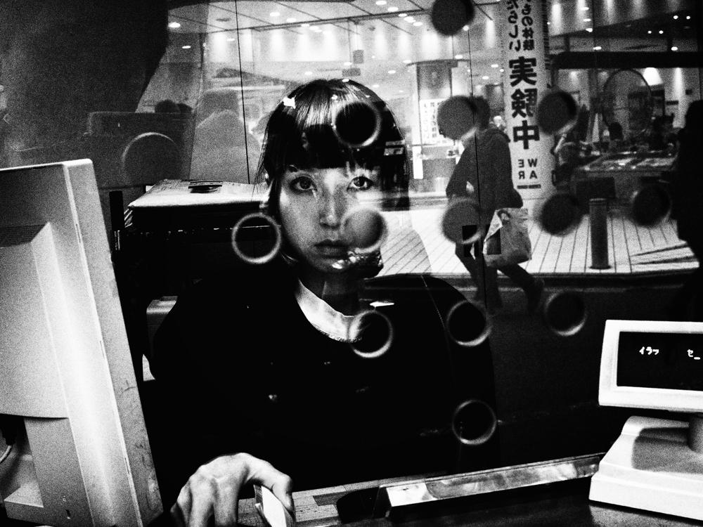 Girl-at-the-Theater-Reception-Desk-byTatsuo-Suzuki