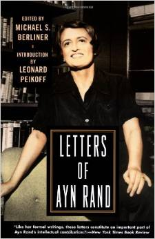 Letters of Ayn Rand Cover