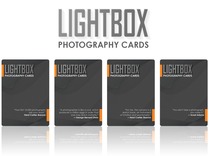 LightBox Photography Cards 02