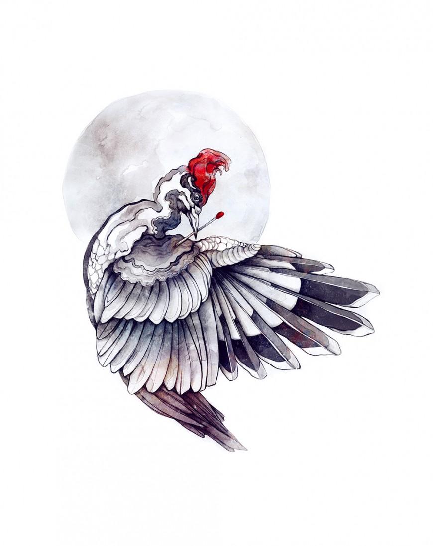 Still-Life-With-Woodpecker