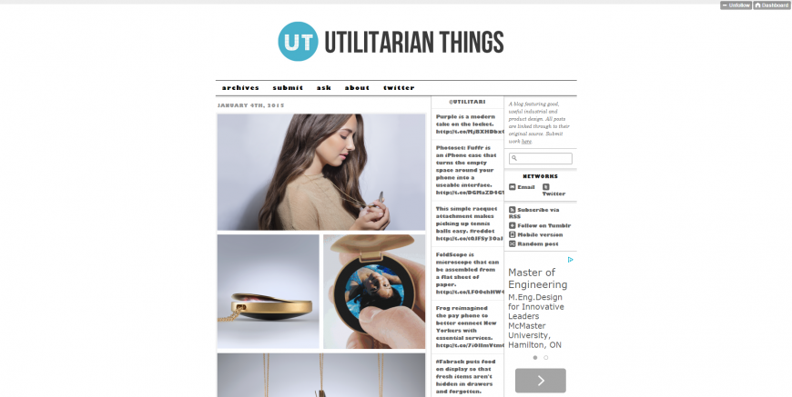 Utilitarian Things