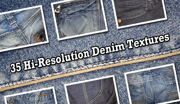 35 Free High-Res Denim Textures
