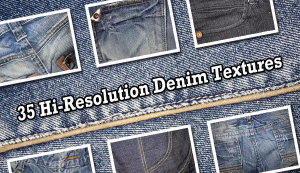 35 Free High-Res Denim Textures