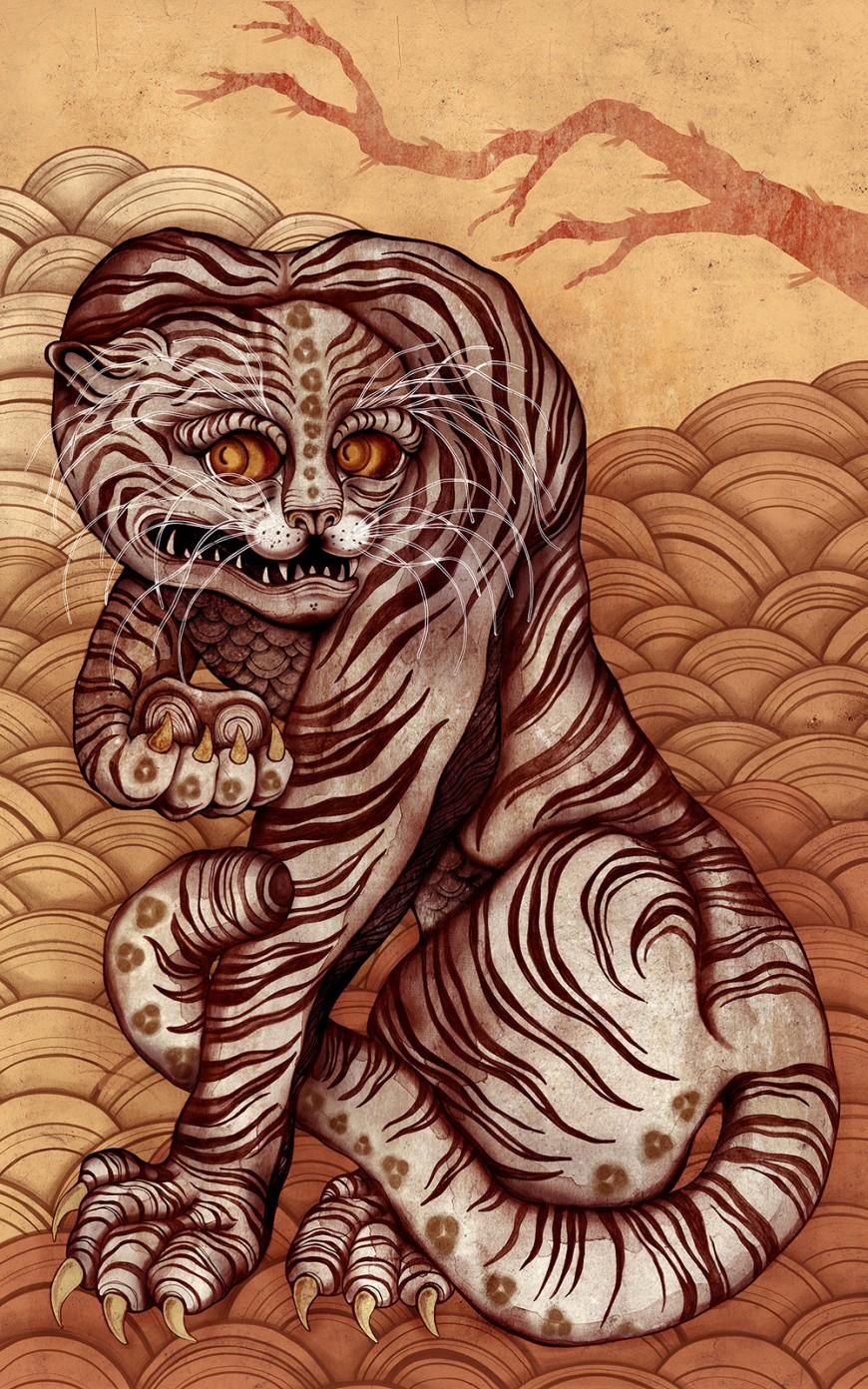 folk-tiger