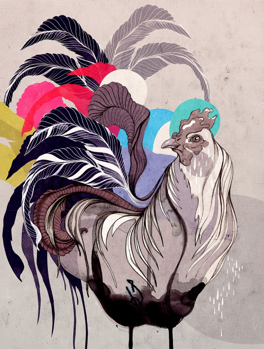 party-rooster