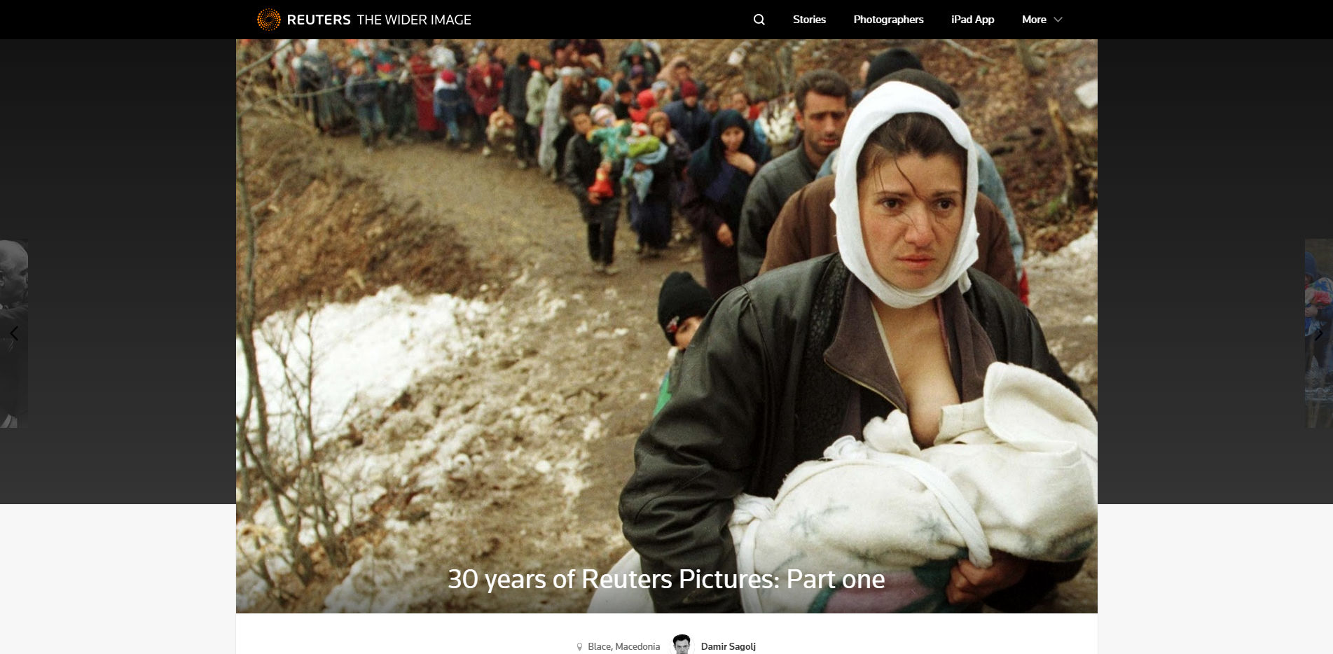 30 years of Reuters Pictures  Part one   The Wider Image   Reuters