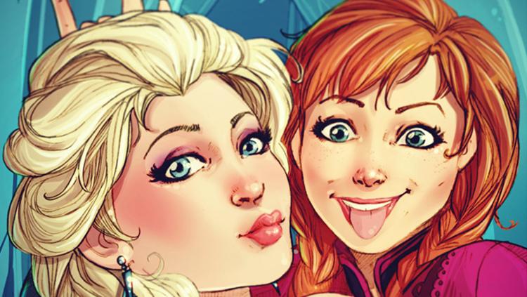 selfie-elsa-frozen