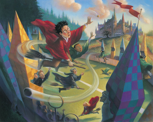 Mary Grandpre S Unpublished Harry Potter Illustrations