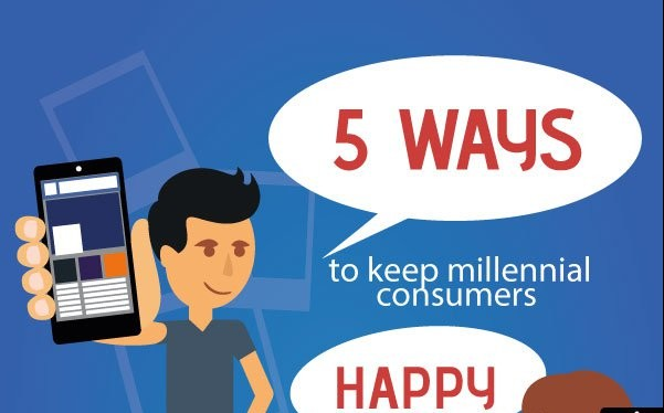 How To Keep Millennial Consumers Happy INFOGRAPHIC