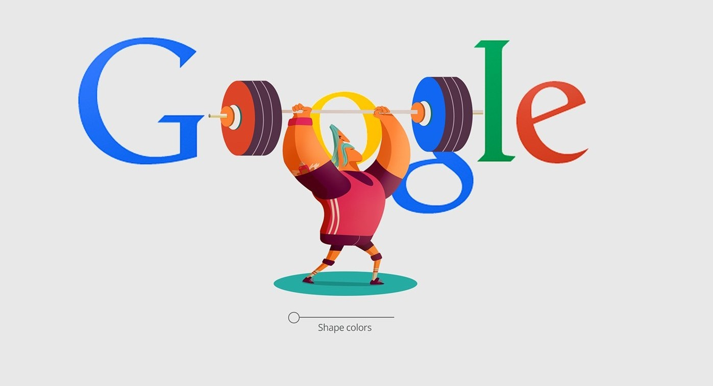 Google doodles for rio 2016 olympics by for Goodl